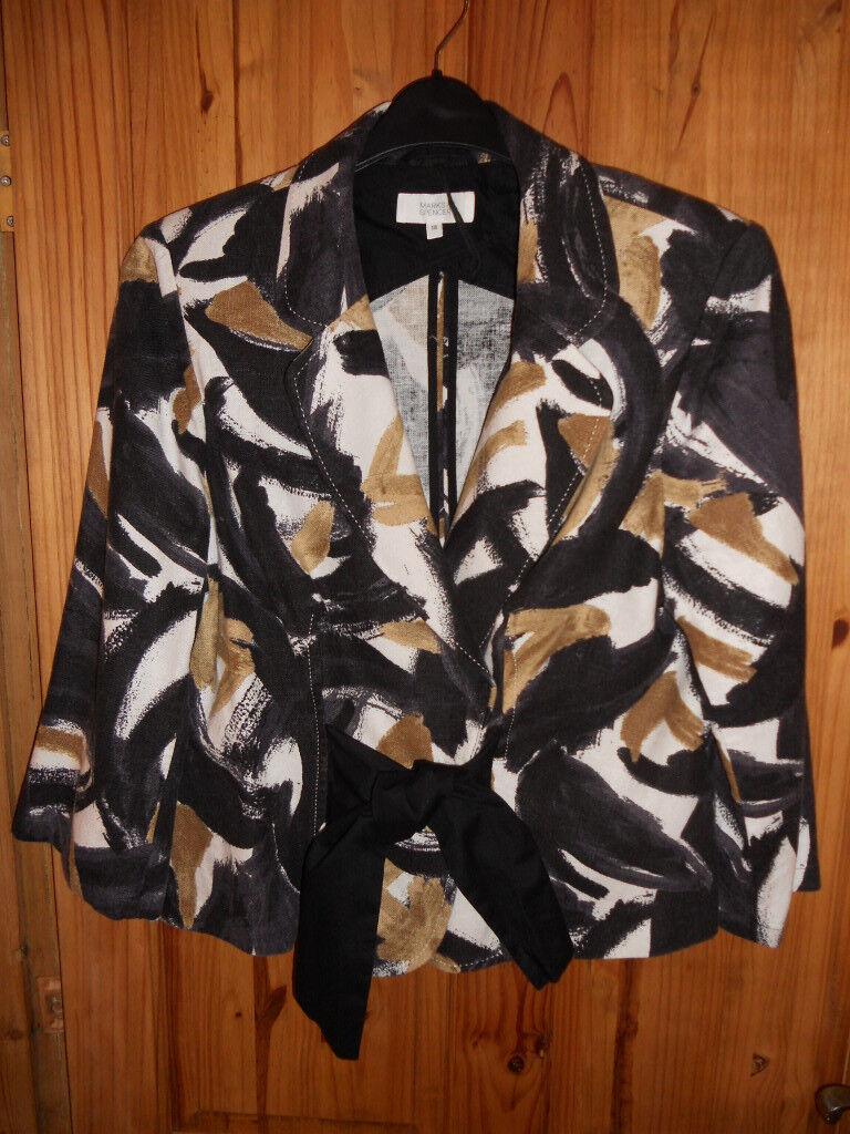 M&S Linen jacket (size 18)