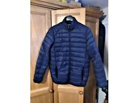 Jacket man's blue demi-season size 2XL lightly used excellence condition
