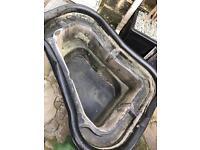 Fibre glass pond