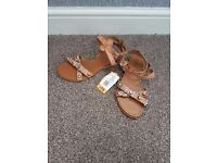 New with tags. Size 3 sandles