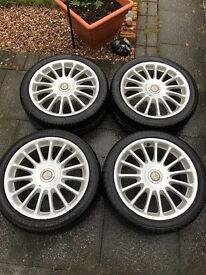 "MG ZR 17"" Alloy wheels Straights"