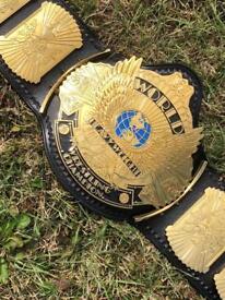 WWE winged eagle belt (Real leather)