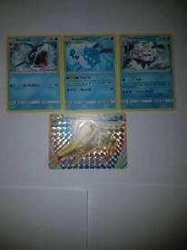 Water Type Pokemon Cards
