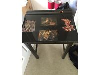 Decorated Antique Desk
