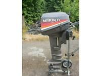 Mariner 8hp outboard fishing boat engine