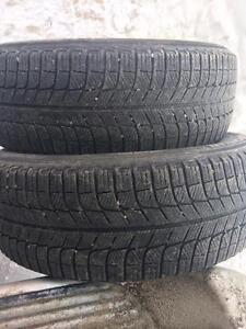2 pneus 215/60r17 michelin