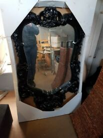 Large black wall mirror. FREE delivery in Derby