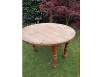 Vintage Drop Leaf Pine Table