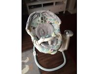 Graco Sweetpeace Baby Swing in excellent condition