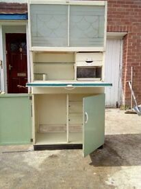 Retro vintage kitchen cabinets small and large