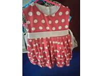 Red/white Spotty Dress £10