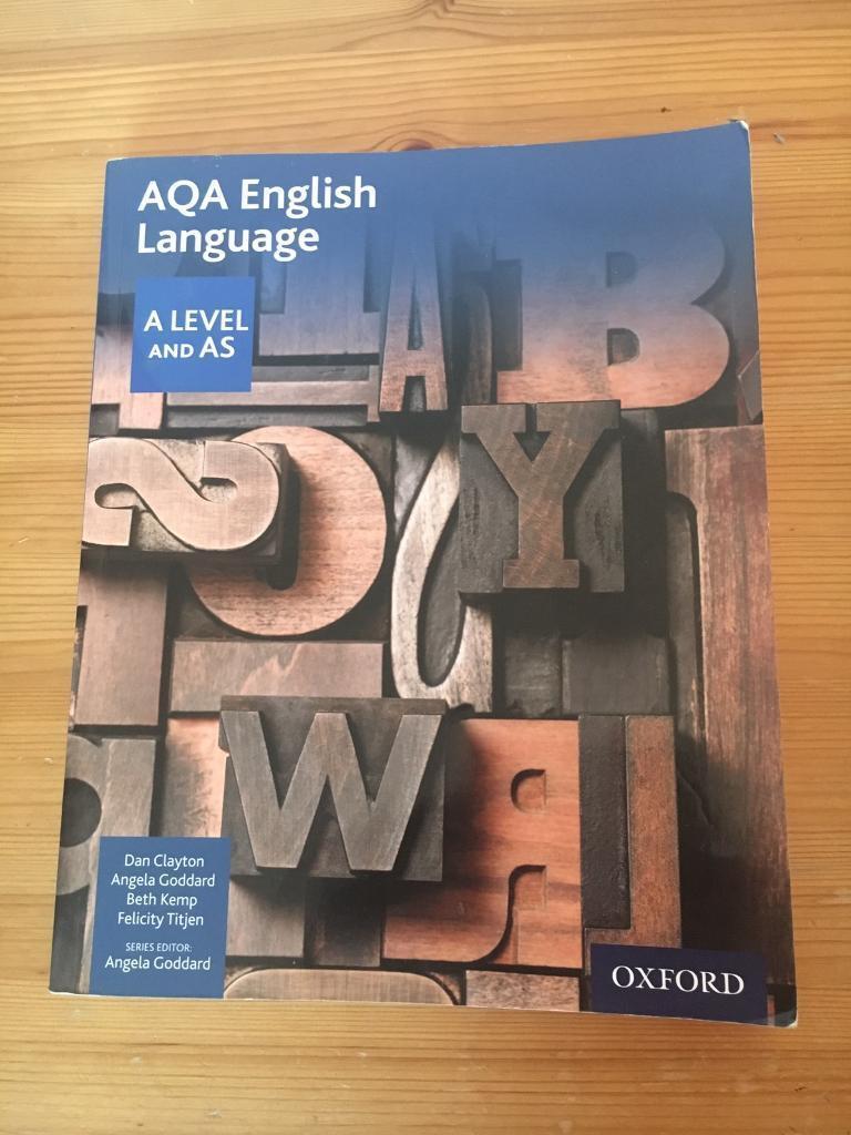 AQA English language (A Level and AS)
