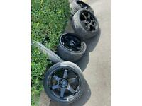 """ROTA GRID ALLOY WHEELS 19"""" X4 LIGHTWEIGHT PERFECT FOR TRACK USE"""