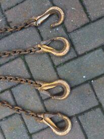 Heavy lifting chains