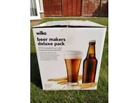 Beer makers deluxe pack from Wilko