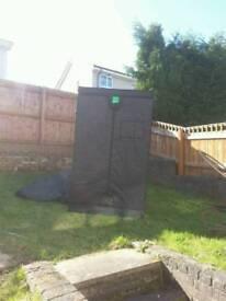 Hydroponic Indoor Grow Tent. Budbox 1.2m x 1.2m x 2m high