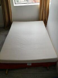Memory foam mattress 4ft6