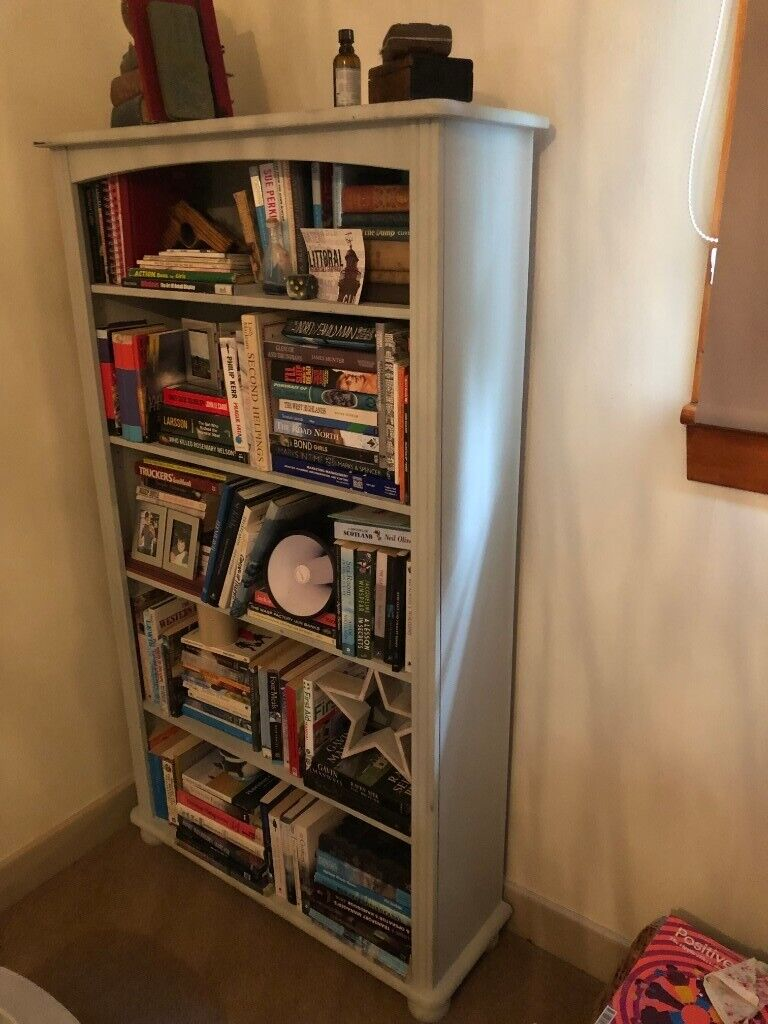 Book Shelves Pine In A Pale Blue Grey Colour In Aberfeldy Perth And Kinross Gumtree
