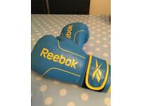 Reebok 8oz leather boxing gloves