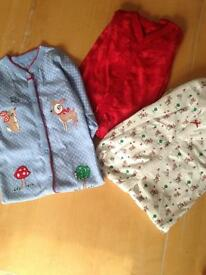 Brand new without tags Next sleepsuits 12-18 months