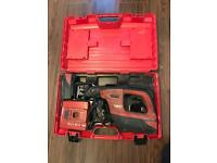 Hilti reciprocating saw WSR 36-A Charger And 2x 36v Li-ion Batteries 3.0ah + original hard case.