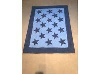 Boys star rug