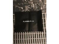 Flannels dust bags