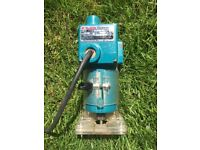 Neat Makita Trimmer/Router 6mm ¼ inch trimmer must collect