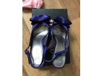Sophie Bow Sling Back shoes Phase Eight, Once Worn, size 6