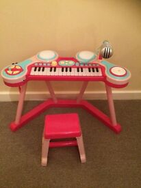 Kids Keyboard and Stool