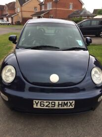 For sale 2001 VW Beetle 2 L £600