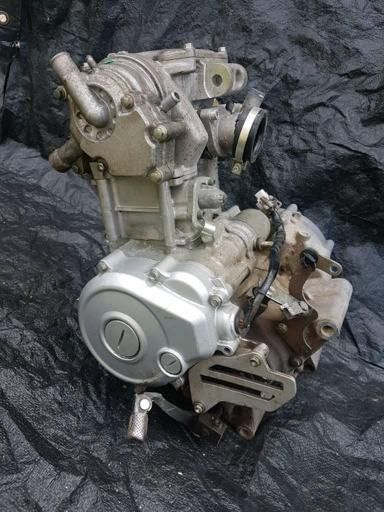 Husqavarna te125 engine