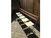A Set Of Pavilion Seats