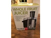 VonShef 990W Whole Fruit Juicer (never used and brand new)