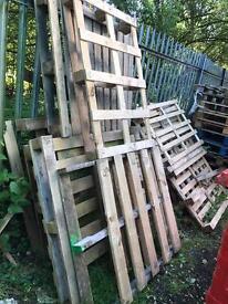 FREE broken pallets / firewood
