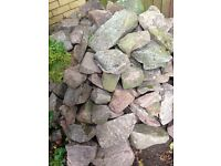 Red Granite rocks and boulders for sale.