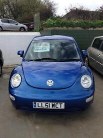 Volkswagen Beetle only 86000 miles now only £2295 12 months mot 6 months premium warranty