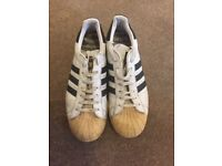 Adidas Shell Top shoes - Black/White