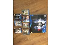 1 x Sony's Play Station PS4 Slim 500GB Console - Black - PLUS seven games, excellent condition