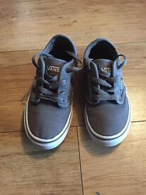 Children's Vans shoes Size 12