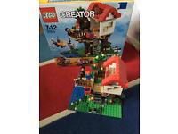 Lego creator sets 31036 toy/grocery shop & 31010 house