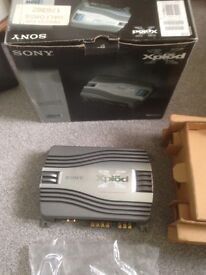 New Sony Xplod car amplifier