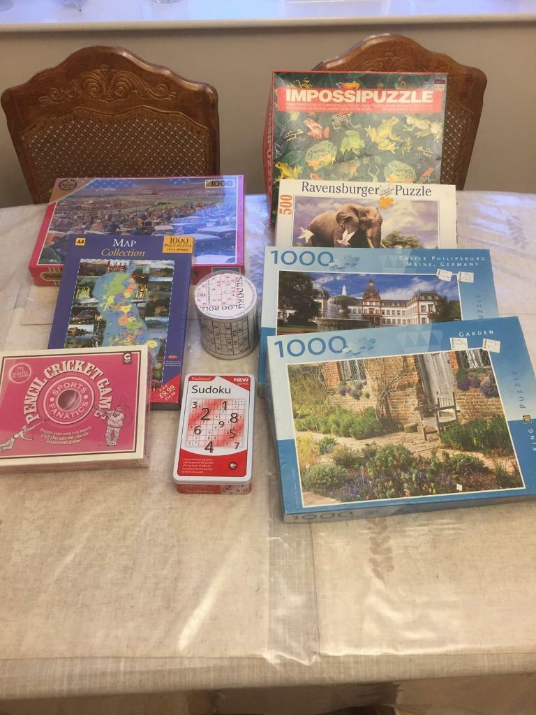 Job lot of Puzzles