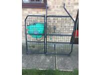 Ford transit connect rear cage