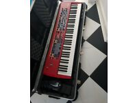 Nord Stage 76 Rev B Hammer Action w SKB case & Pedals in great condition