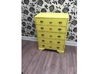 Up cycled chest of draws