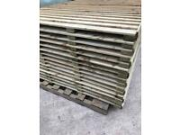 Fence panels.... pressure treated....6x2...£26 each