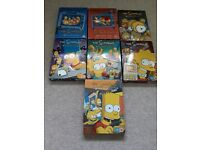 7 Simpsons collectors dvd sets