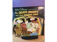 Vintage 1967 Walt Disney vinyl LP Record