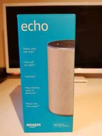 Amazon Echo 2nd generation Sandstone brand new